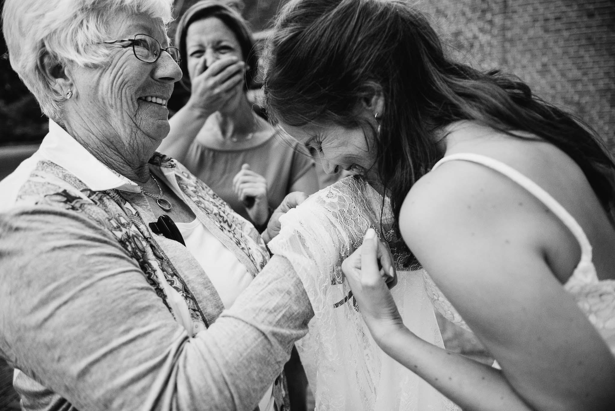 spontane foto's bruiloft Eindhoven