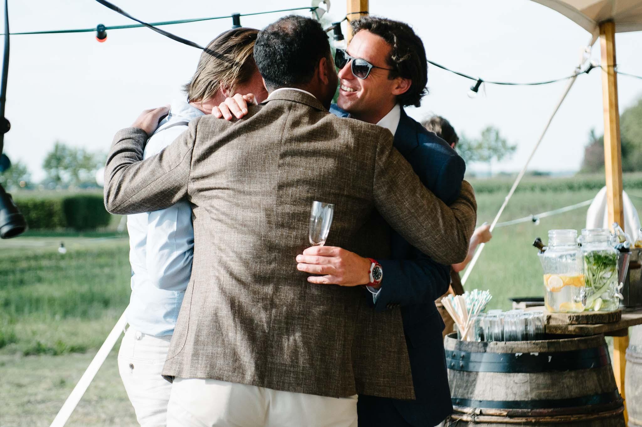 journalistieke spontane foto's bruiloft