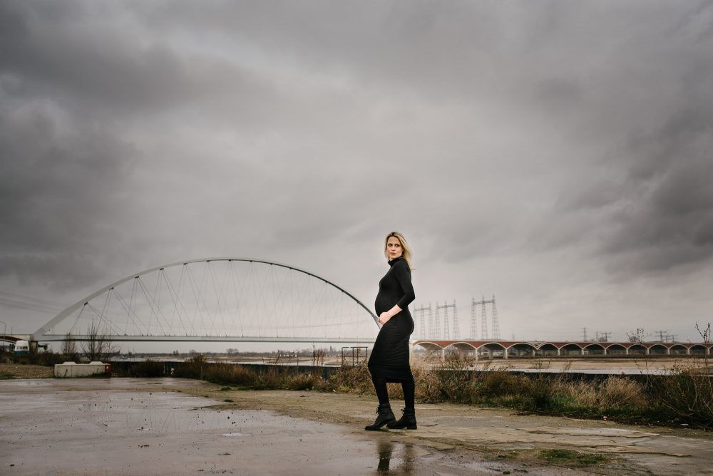 stoere foto's zwangerschap Nijmegen
