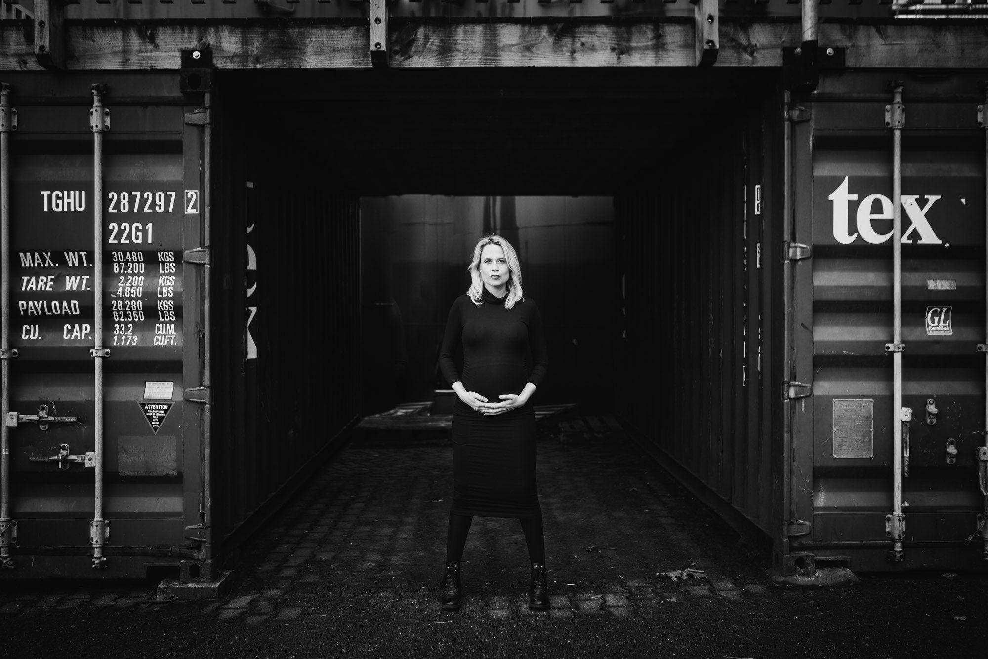 fotograaf zwangerschap Nijmegen stoer