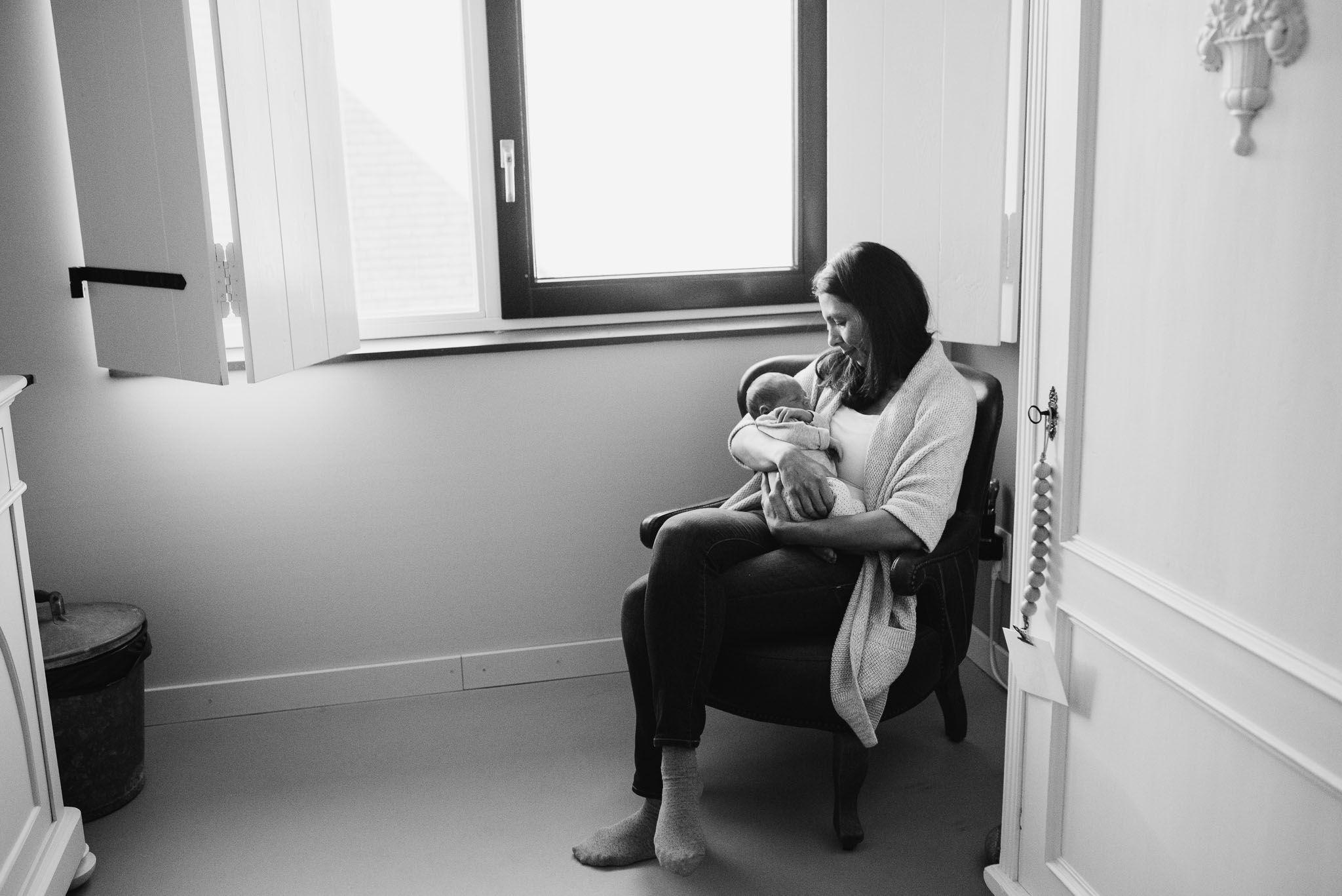 lifestyle fotoshoot newborn baby utrecht