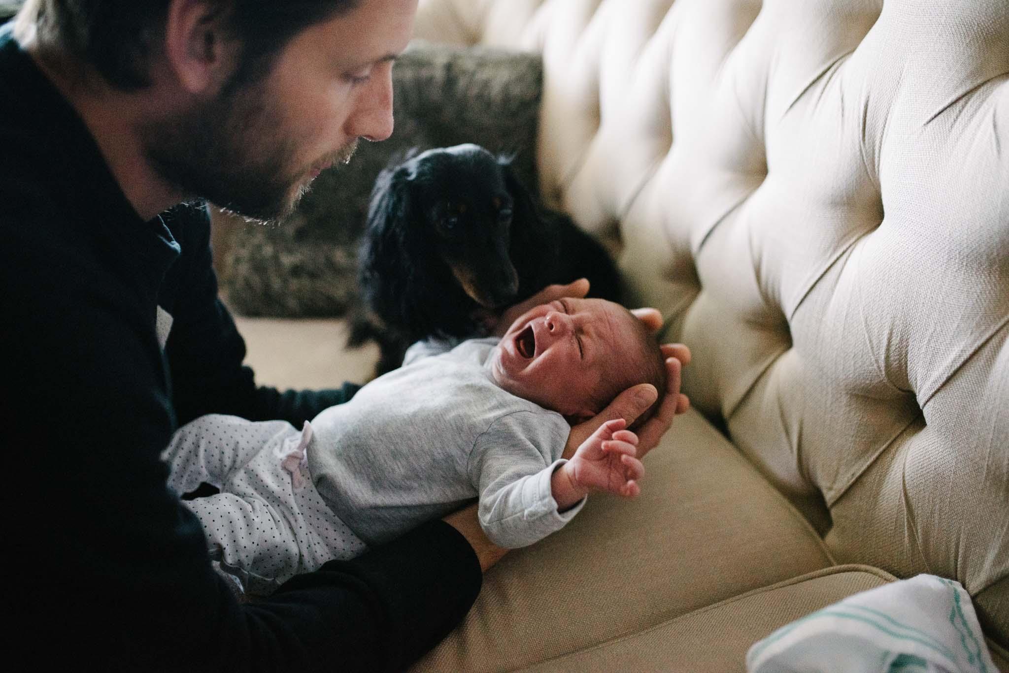 natuurlijke foto's newborn