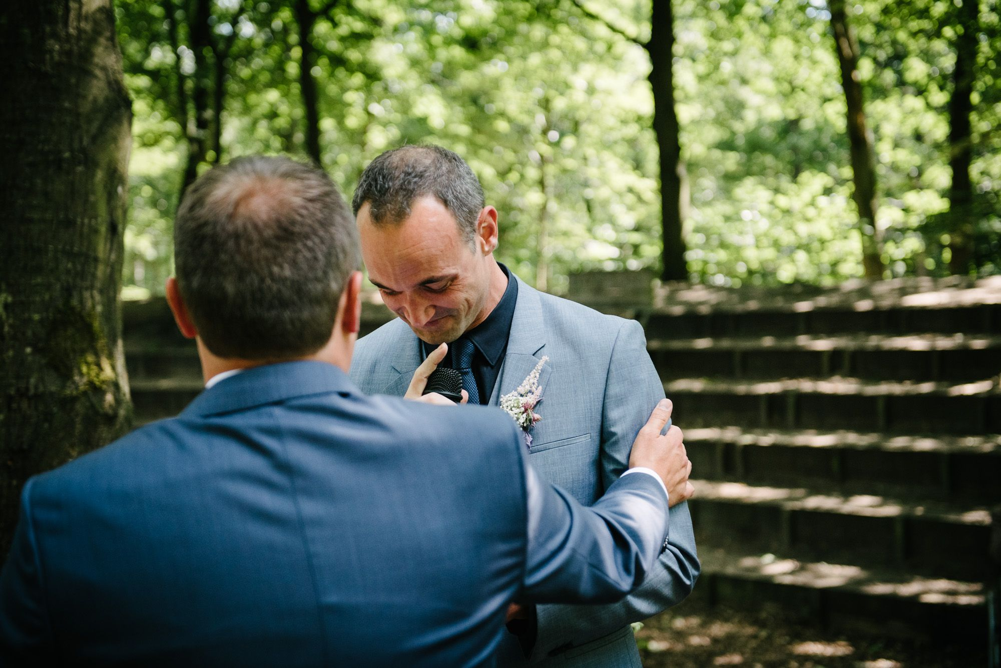 emotionele foto's bruiloft gay wedding