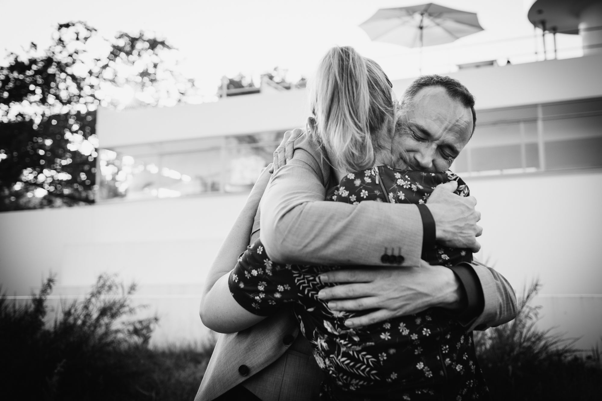 spontane journalistieke foto's bruiloft