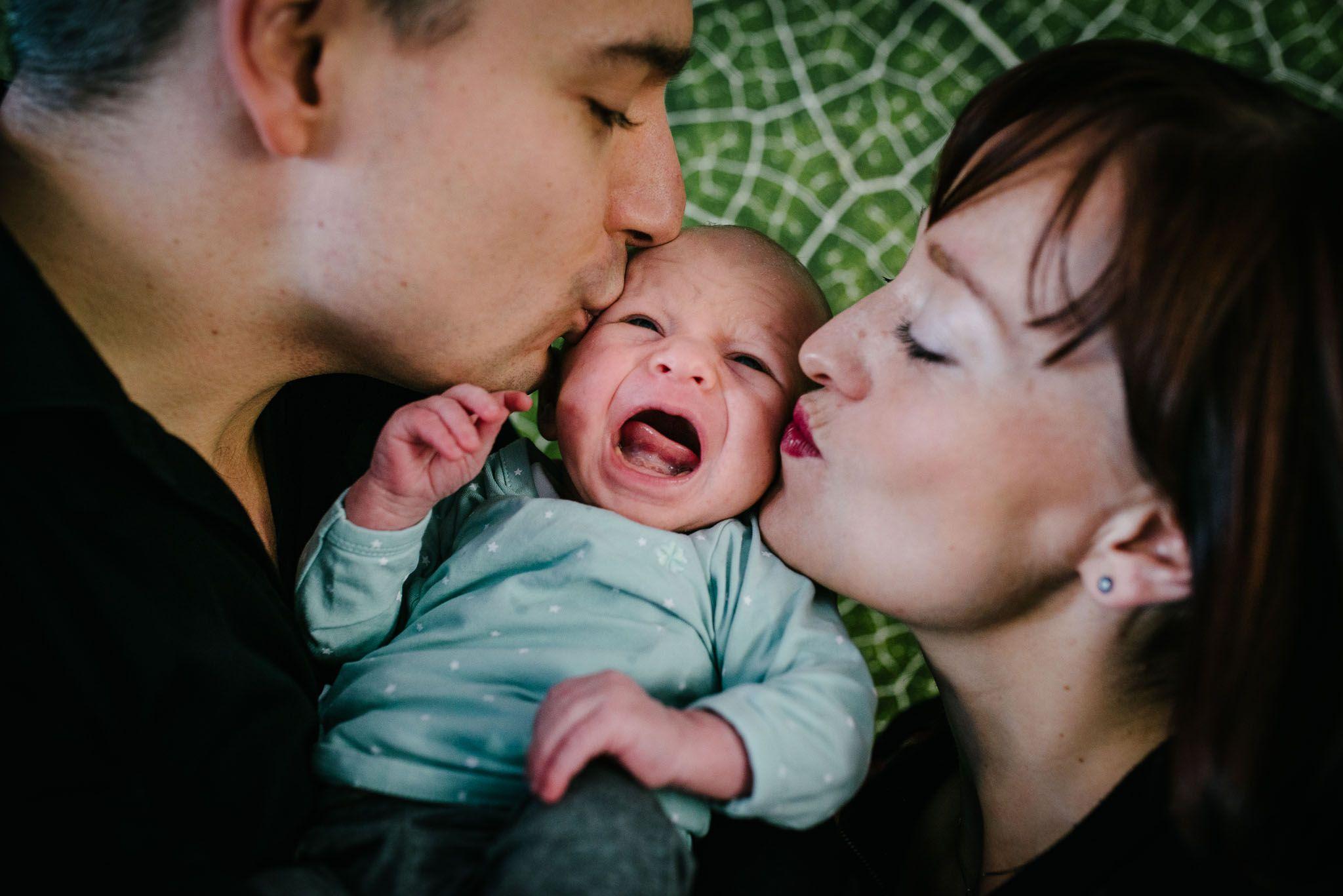natuurlijke foto's newborn baby