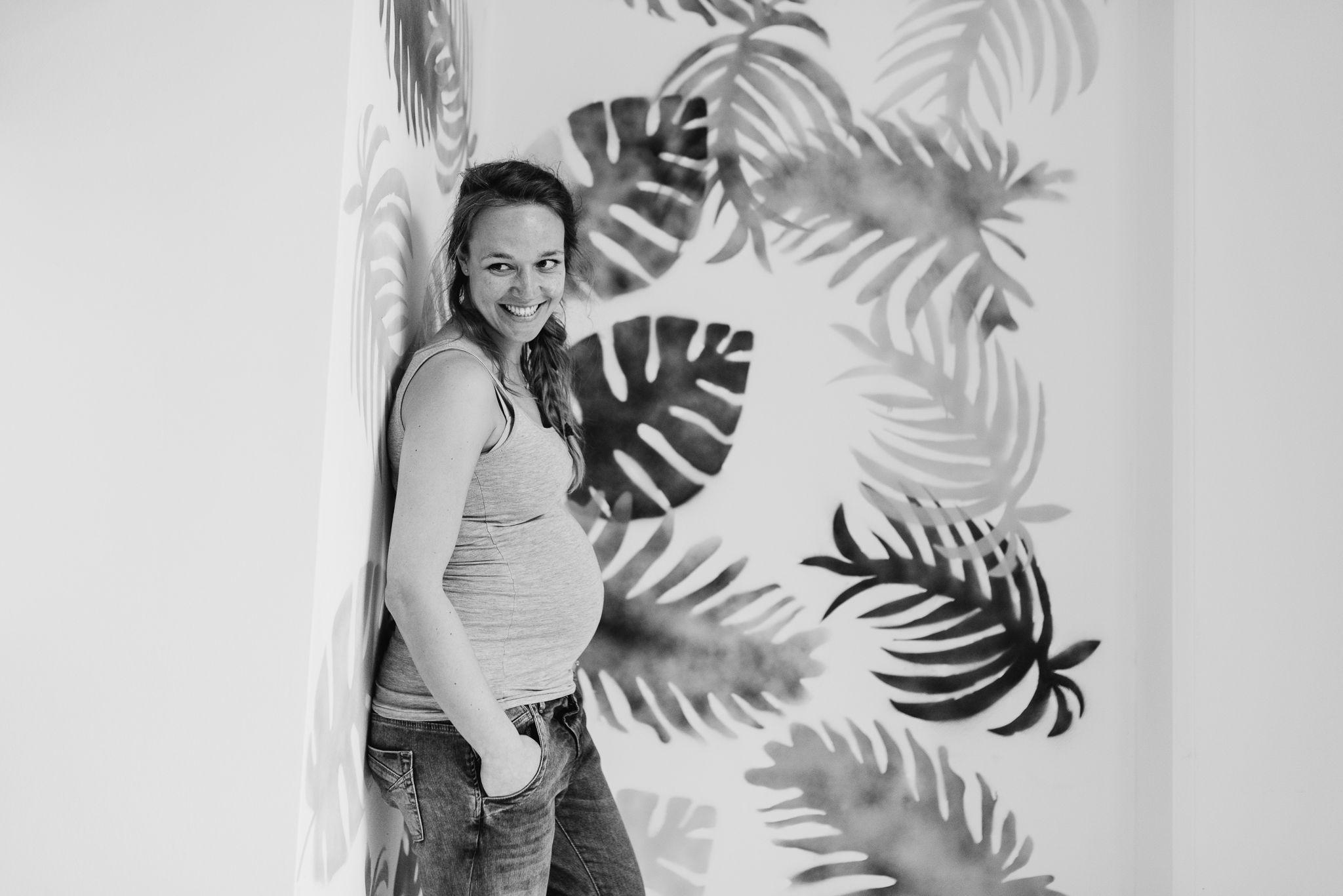 foto's zwanger Arnhem stoer