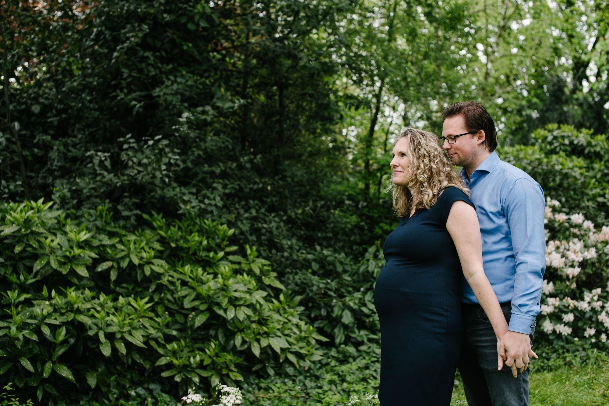 zwangerschapsfotografie buitenlocatie Utrecht