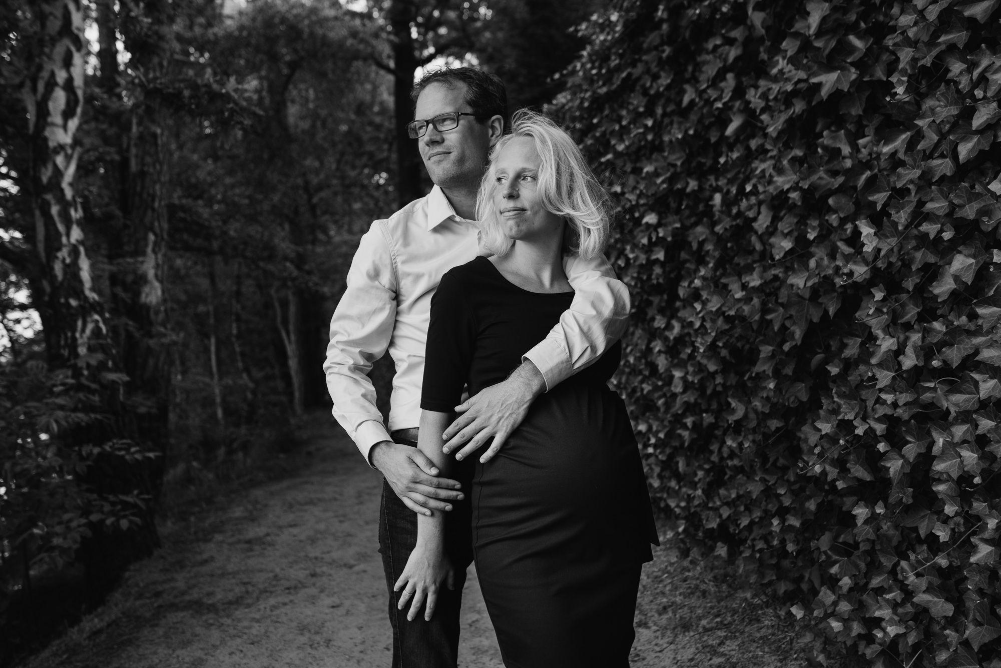 stoere zwangerschapsfoto's Den Bosch