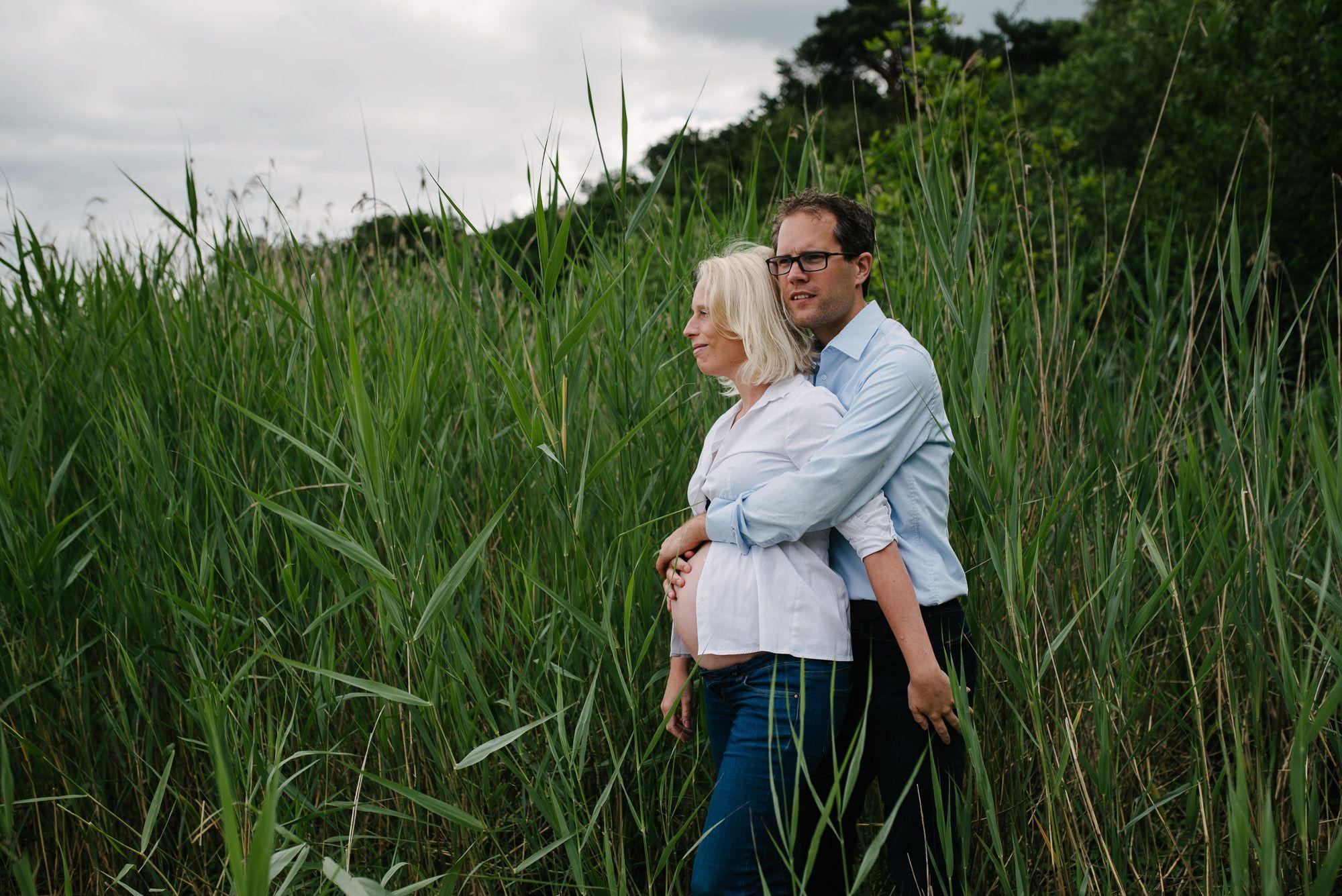 foto's zwanger stoer