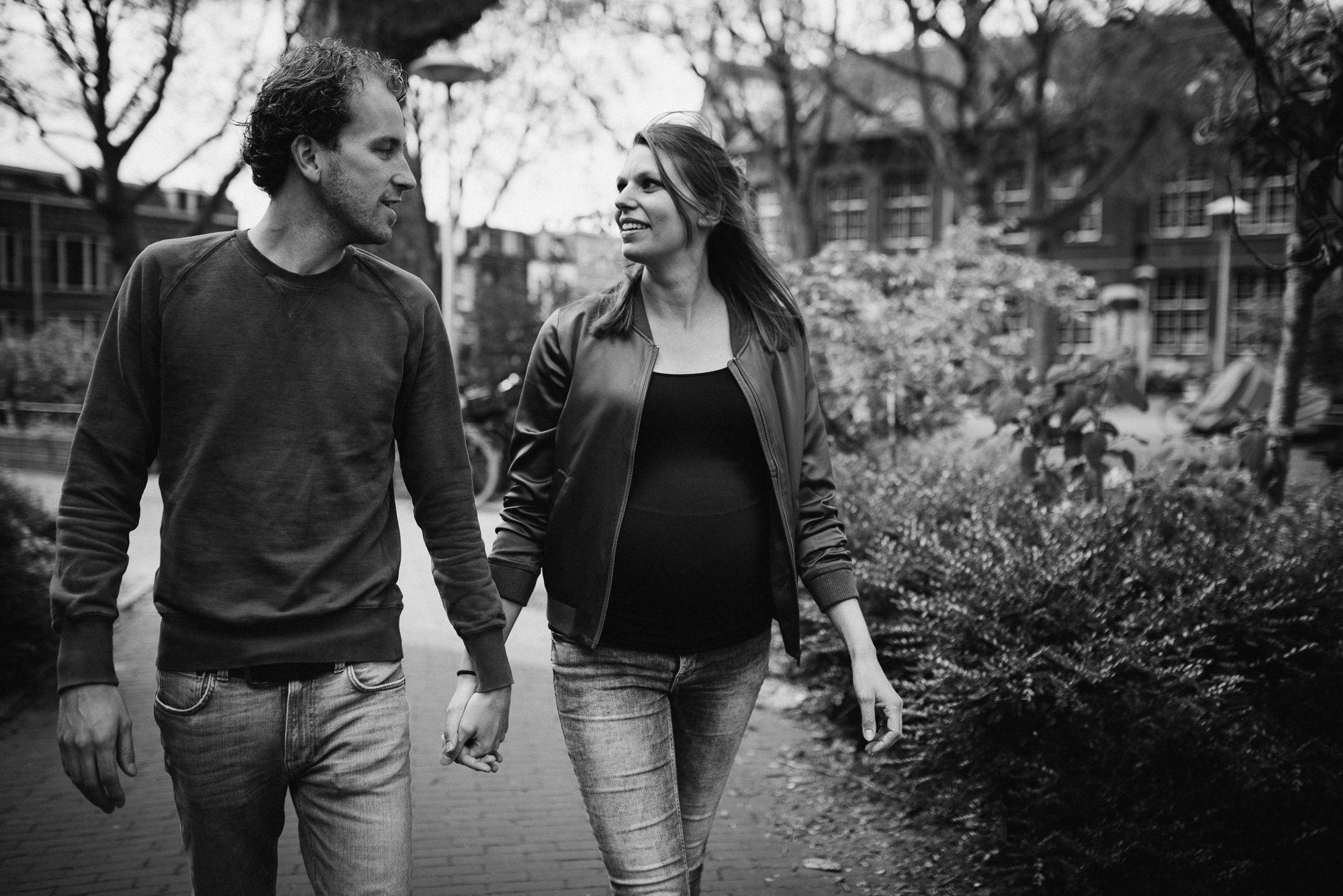 stoere zwangerschapsfotografie Utrecht