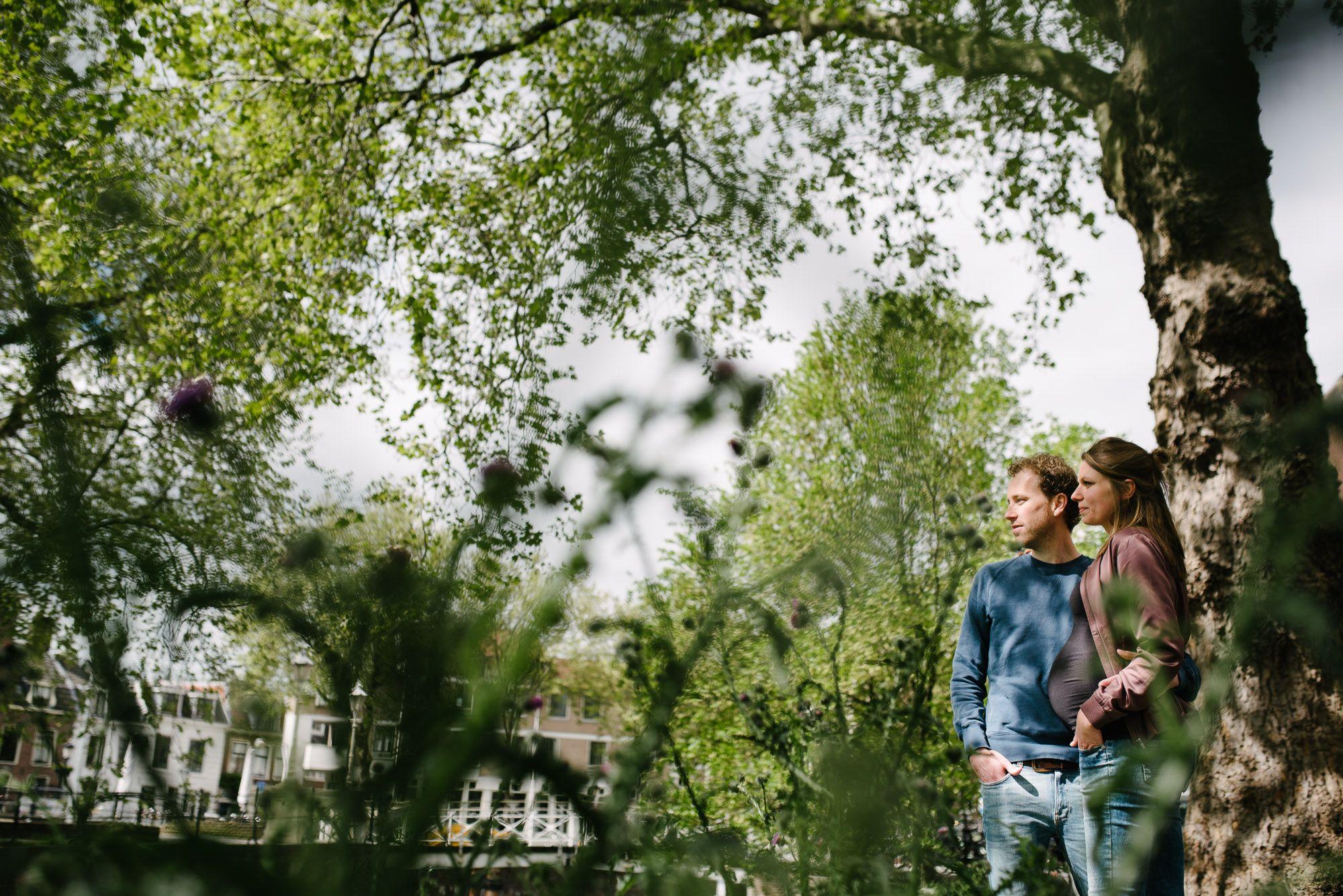 stoere foto's zwangerschap Utrecht