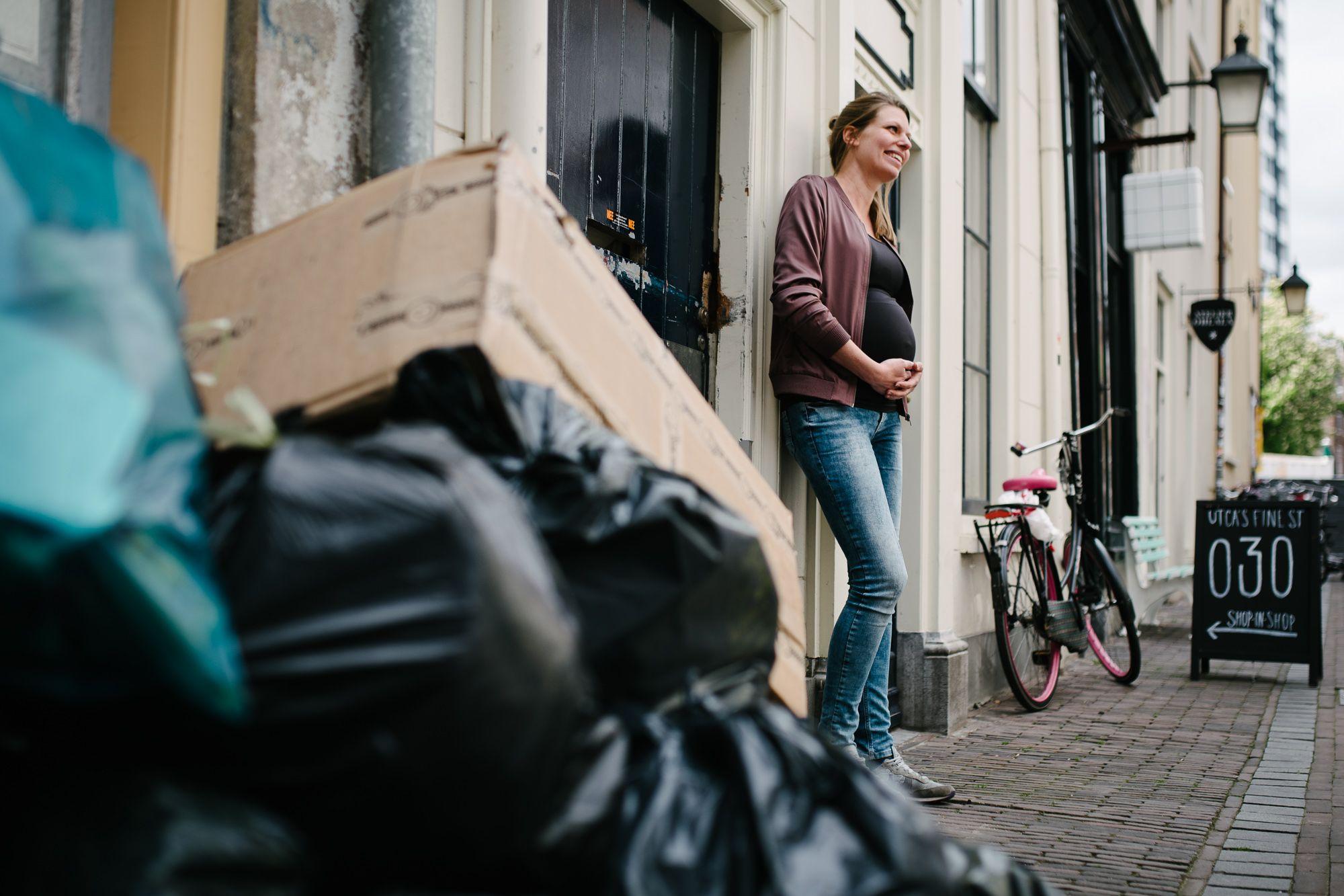 fotoshoot zwangerschap Utrecht