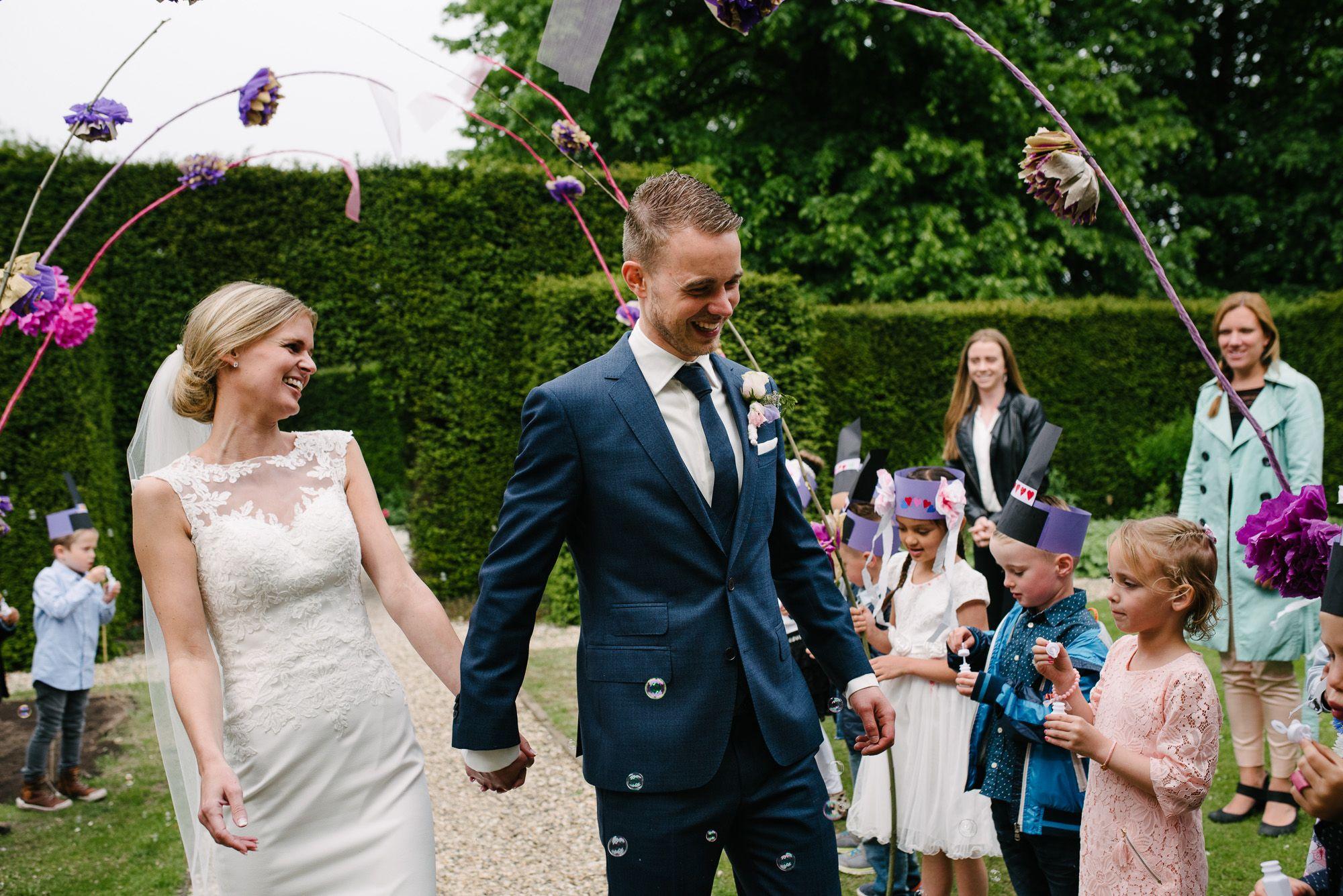 Journalistieke bruidsfotograaf Den Bosch
