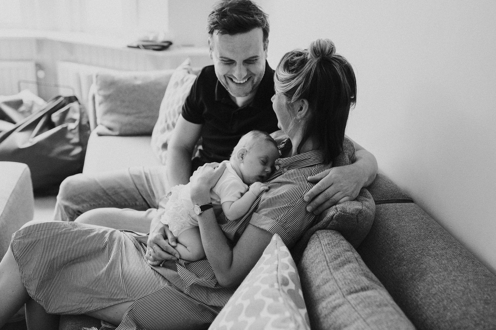 spontane babyfoto's