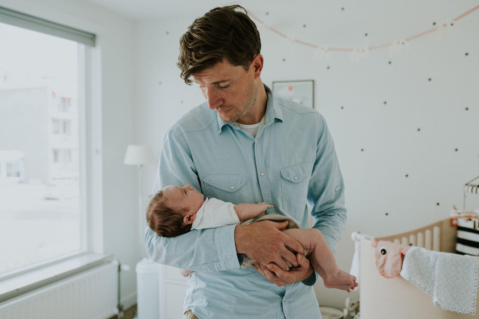 fotoshoot pasgeboren baby thuis Rotterdam