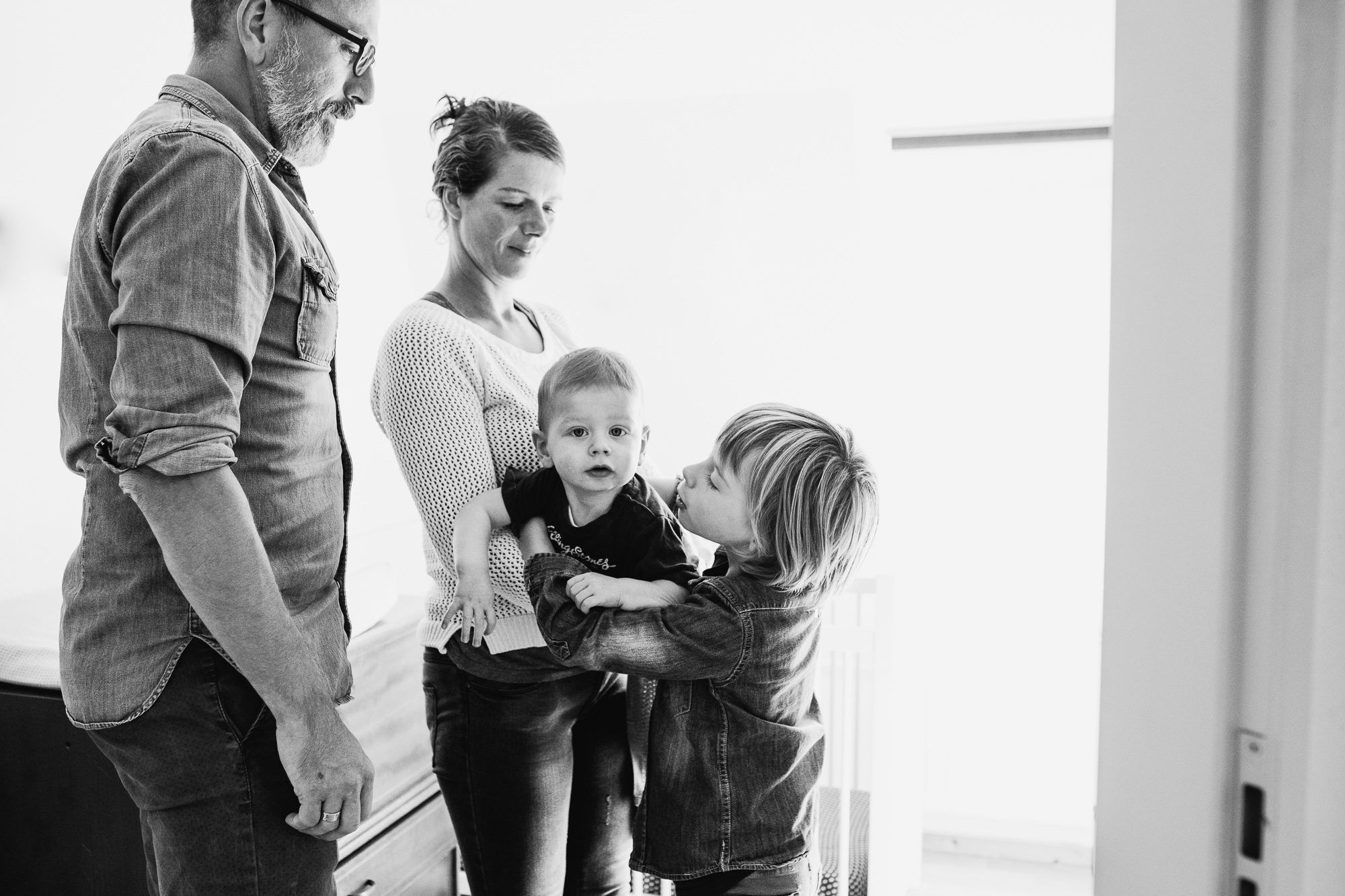 gezinsfotogshoot thuis Boxtel