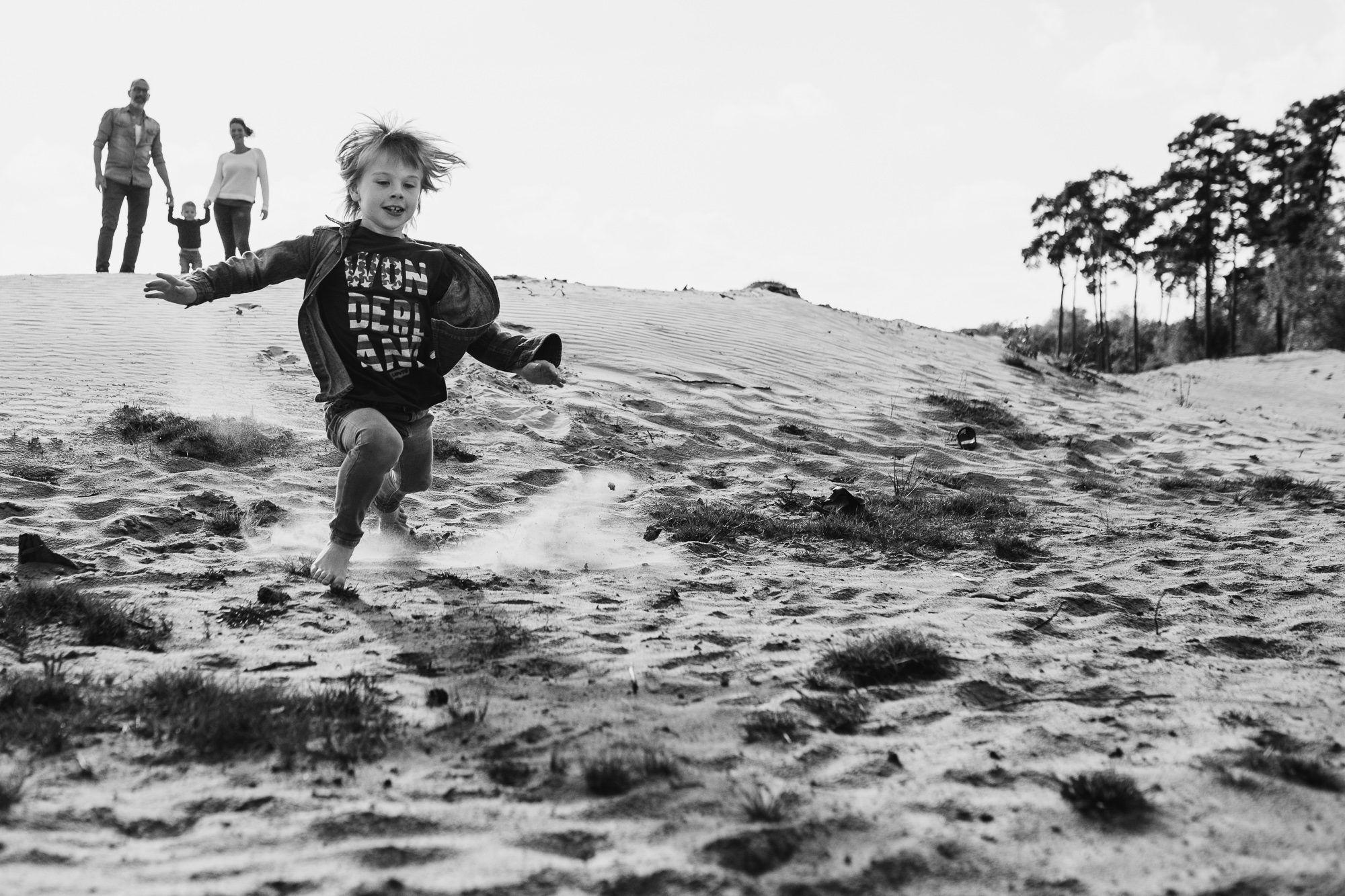 spontane fotoshoot gezin kinderen Boxtel