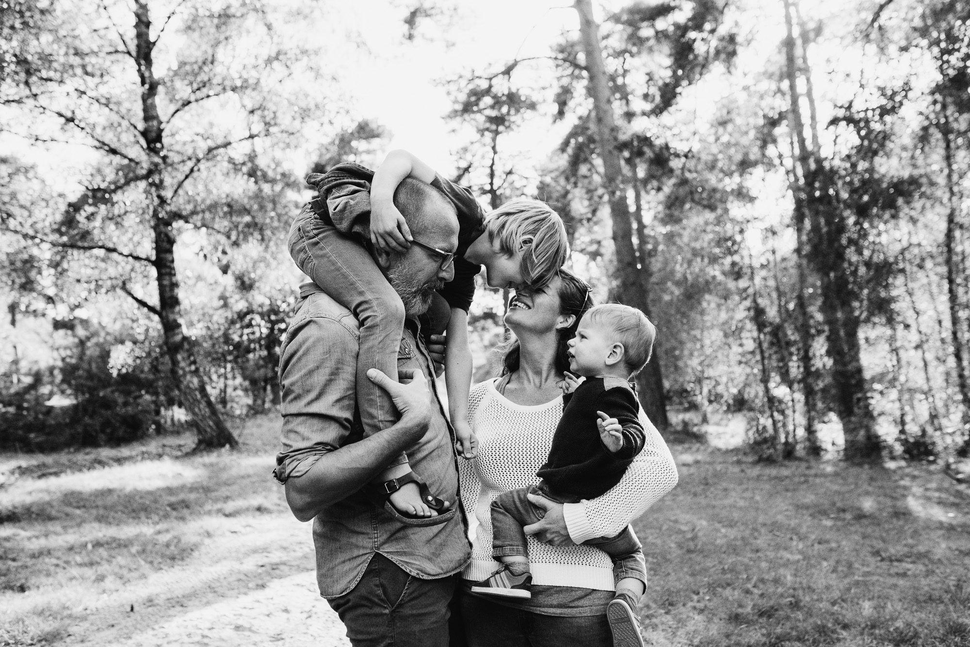 spontane foto's gezin kinderen