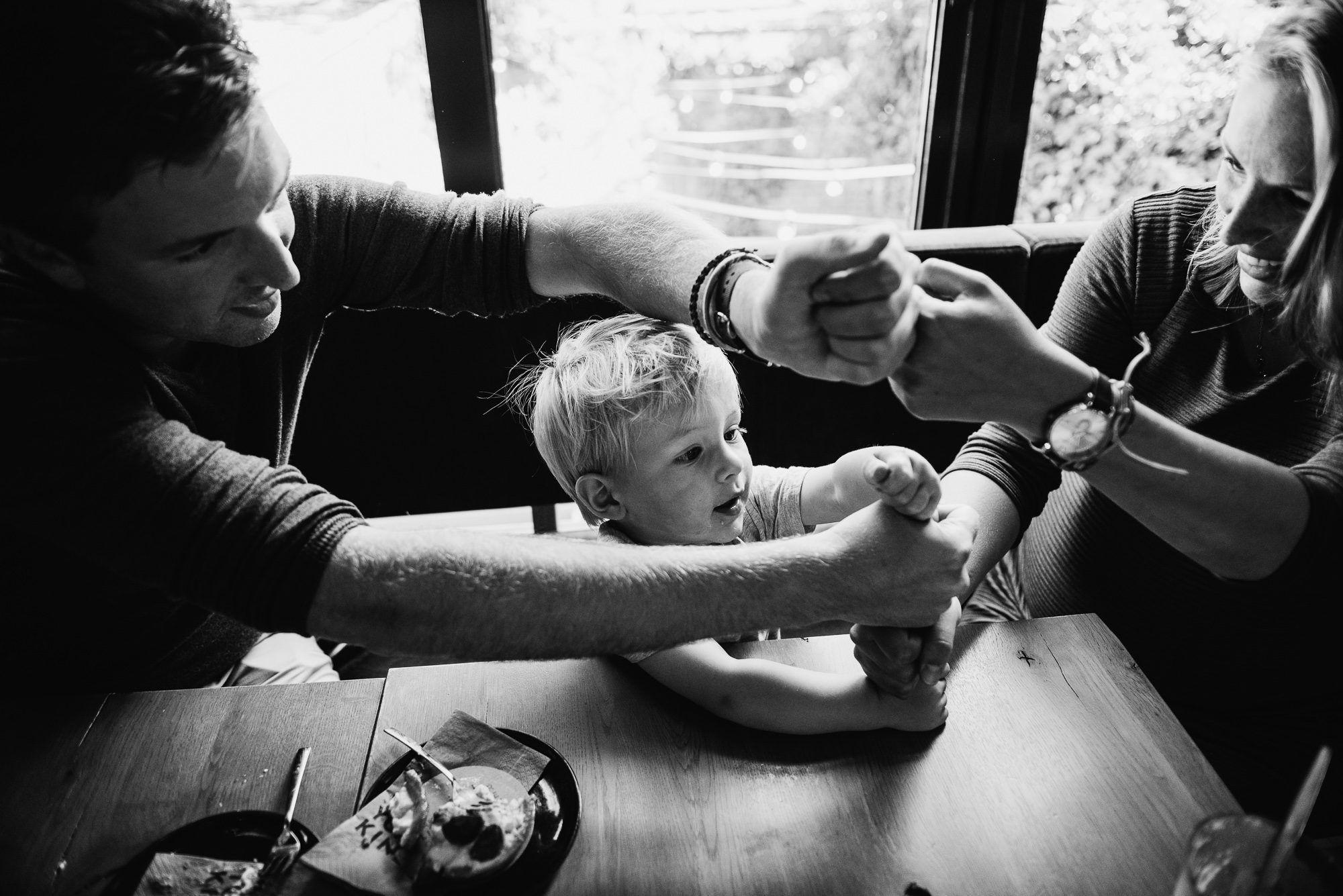 ongeposeerde familiefotografie Utrecht