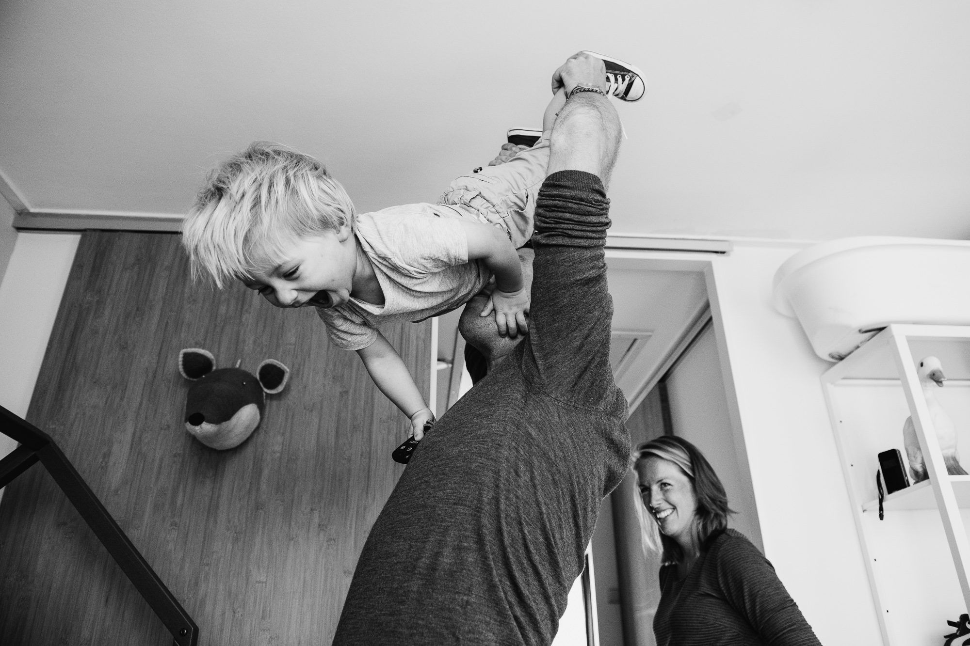 spontane foto's familie kinderen Utrecht