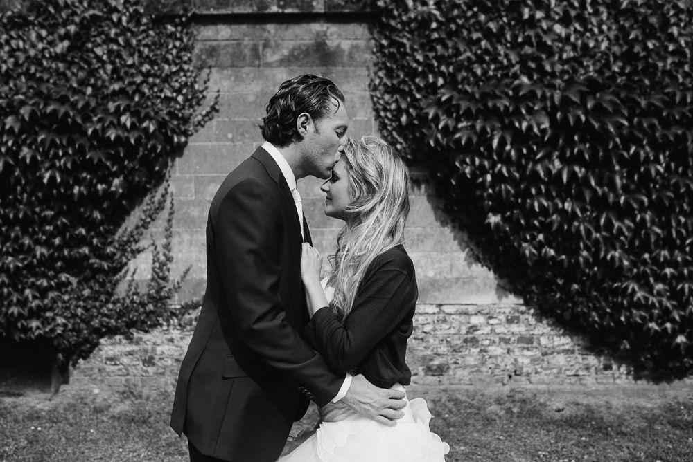 artistieke foto's bruidspaar