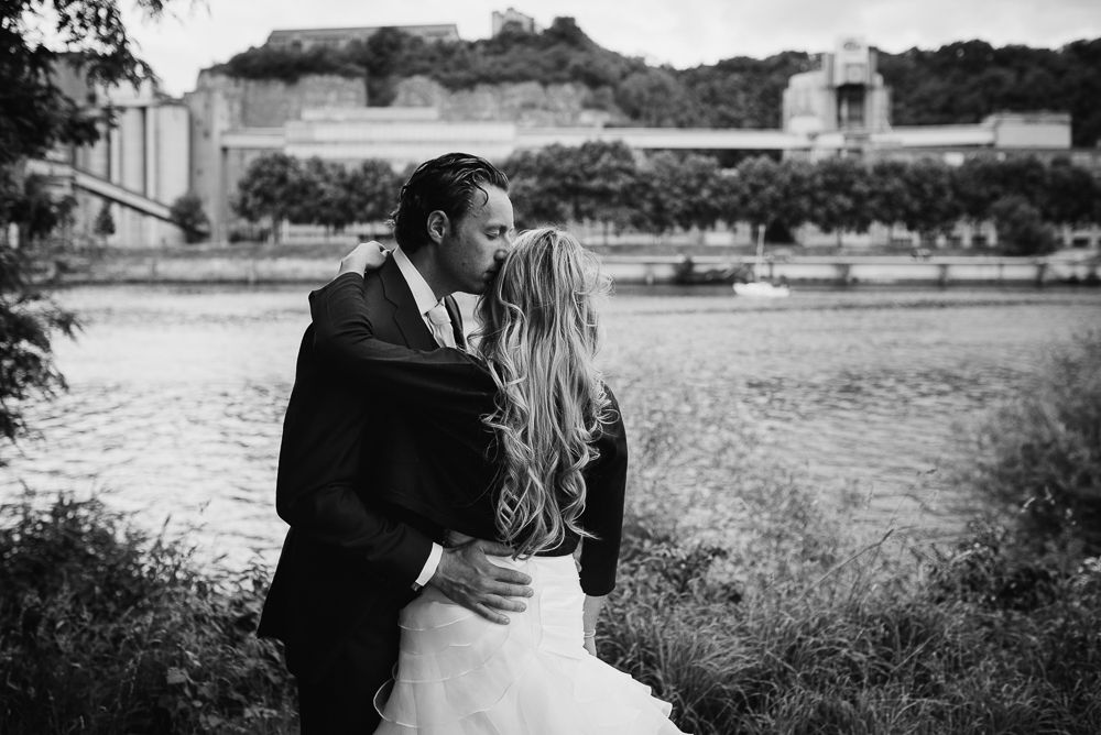 fotograaf bruiloft trouwen buiten